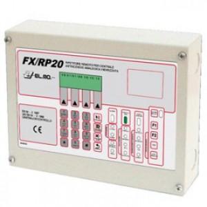 TỦ BÁO CHÁY PHỤ FX/RP20 (HIỂN THỊ LCD VÀ ĐIỀU KHIỂN CHỨC NĂNG)