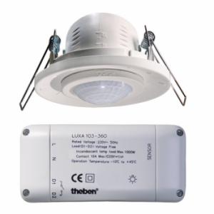 Công tắc cảm ứng chuyển động THEBEN LUXA 103-360/2