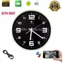 Camera ngụy trang đồng hồ treo tường DW005
