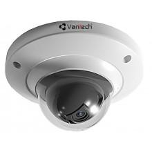 Camera IP 2.0 Megapixel Full HD Mini Dome chống phá hoại VANTECH VP-130N